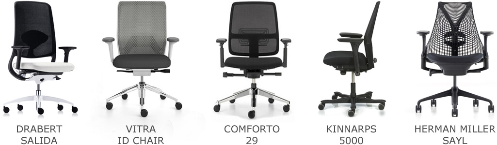 Top 5 Bureaustoelen