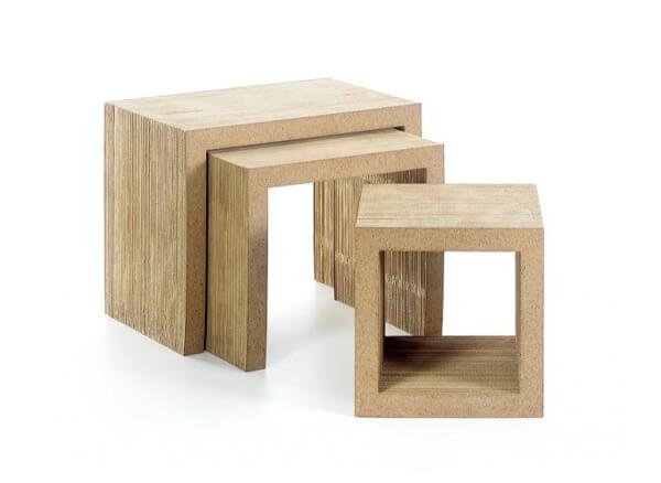 Vitra Low Table Set