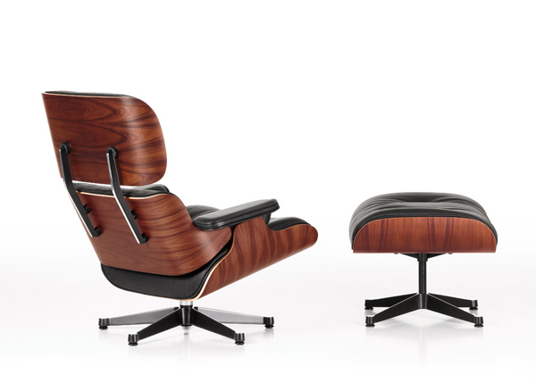 vitra eames lounge chair ottoman brokx projectinrichting. Black Bedroom Furniture Sets. Home Design Ideas