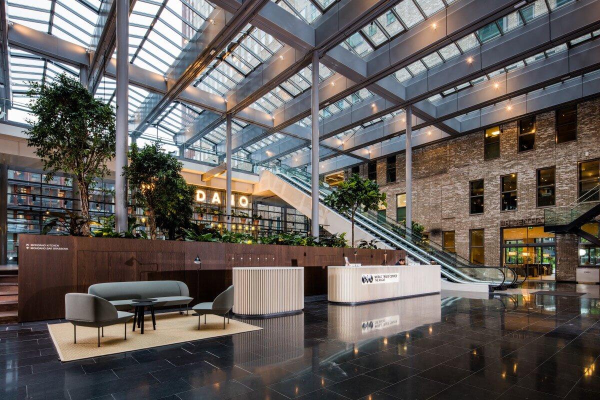 Referentie kantoorinrichting WTC Den Haag [01] Brokx projectinrichting